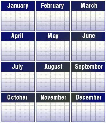 2011 calendar united states